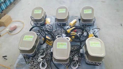 不锈钢环链电动葫芦细节